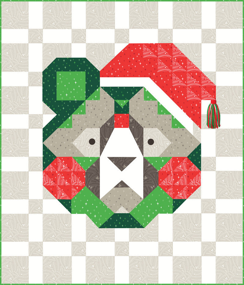 Holiday Bear Quilt Kit