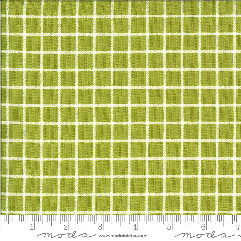 On The Farm Green Country Checker Yardage (20707 17)