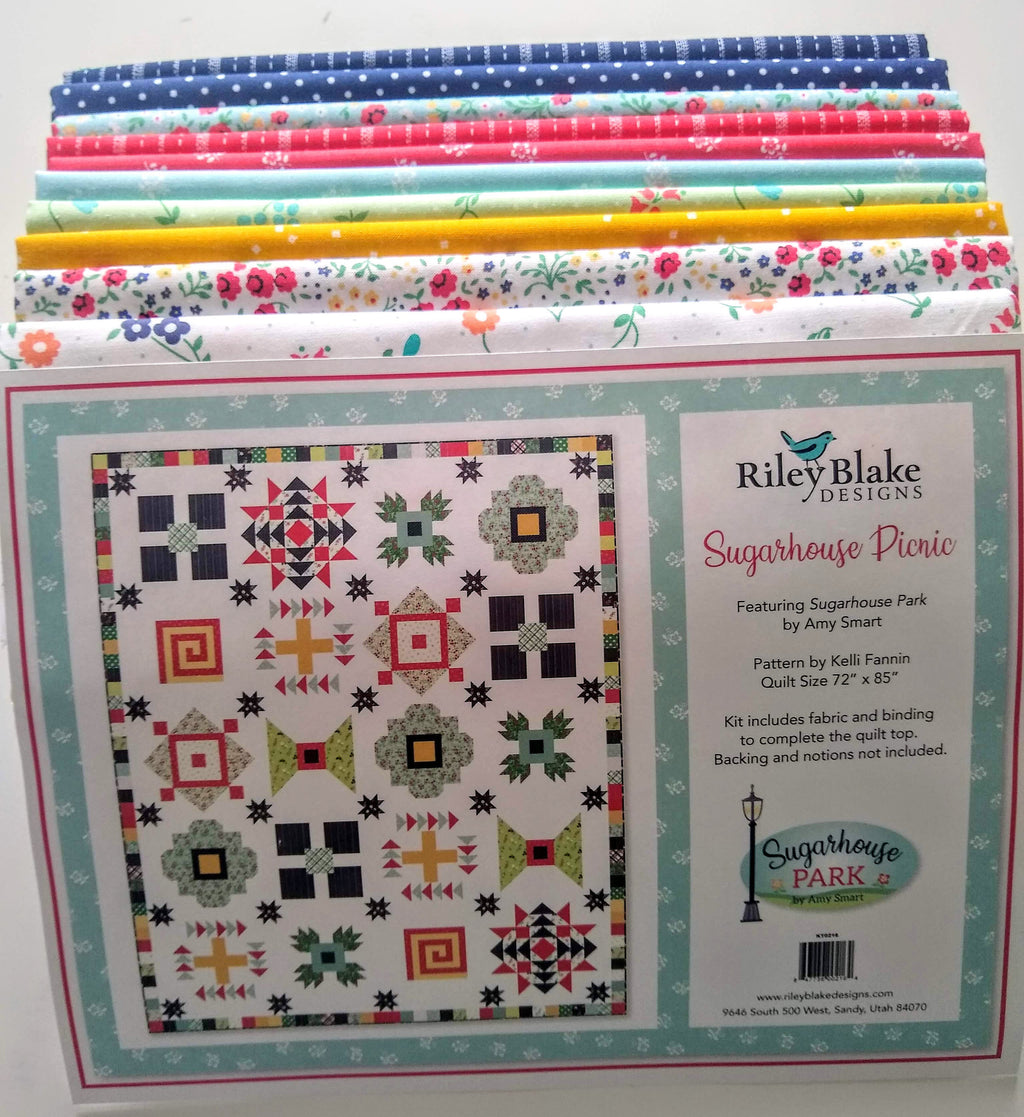 Sugarhouse Picnic Sampler Quilt Kit by Amy Smart