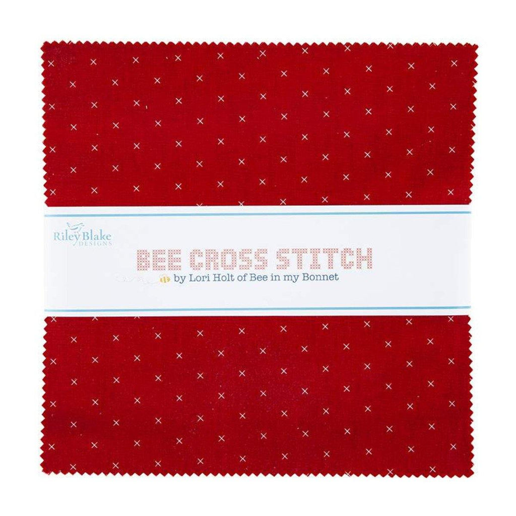 "Lori Holt's Bee Cross Stitch 10"" Stacker 