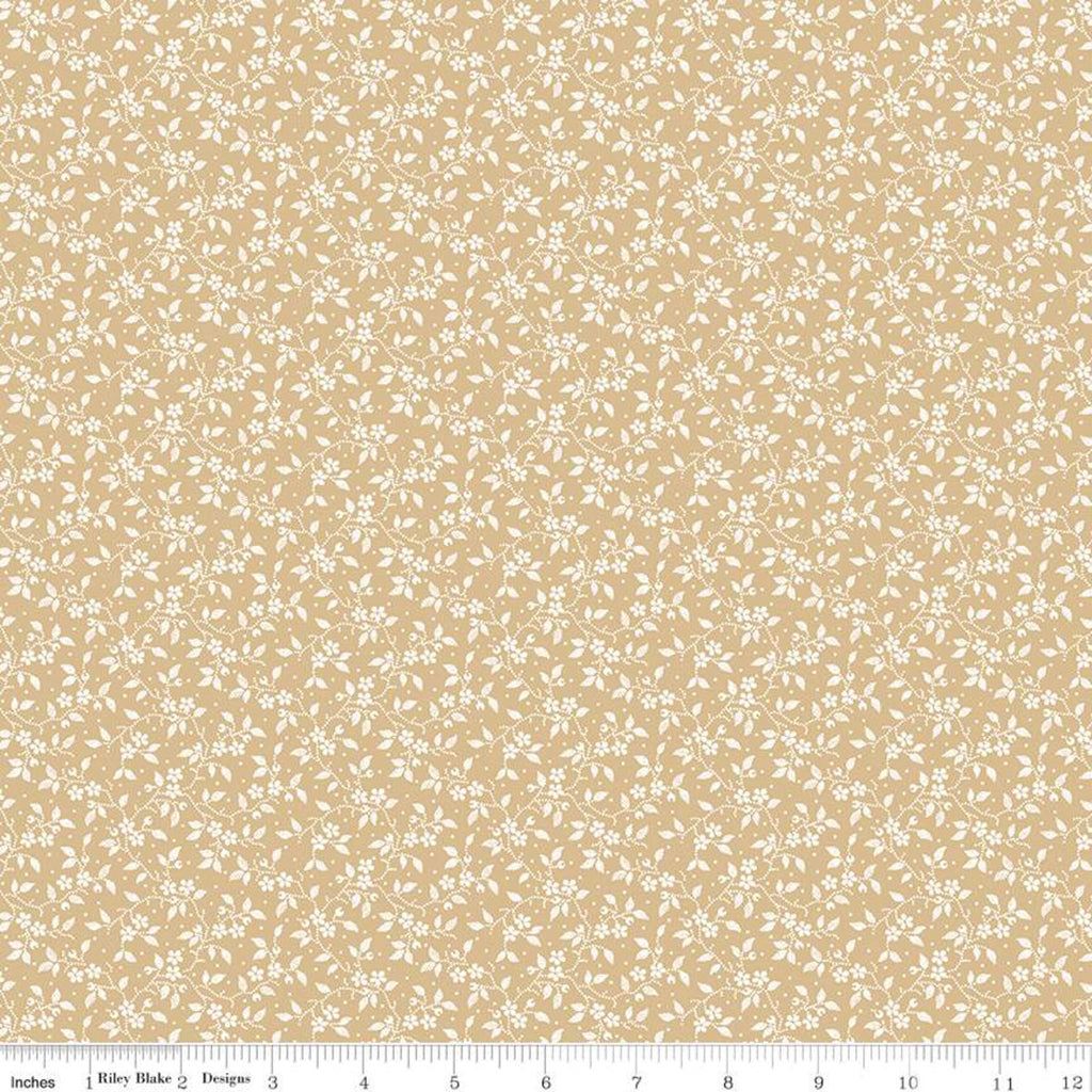 Delightful Gold Vines Yardage (C10257 GOLD)
