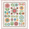 Lori Holt's Flea Market Flowers Quilt Kit - In Stock! - Lori Holt Sew Along Quilt Kit