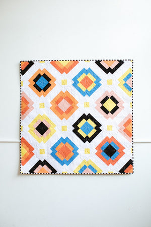 Radiate Quilt Pattern by Then Came June (TCJ 118) - 3 different size options - Fat Quarter Friendly