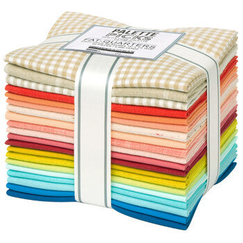 Quilty Love Fat Quarter Bundle Palette Picks Curated by Emily Dennis | 20 SKUs
