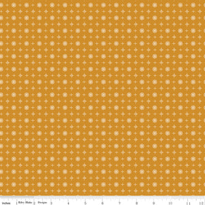 Prim Butterscotch Vintage Yardage (C9706 BUTTERSCOTCH)