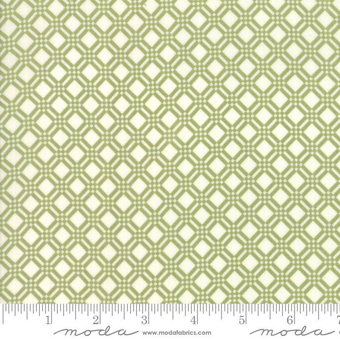 Early Bird Green Check by Bonnie & Camille for Moda Fabrics (55193 16)