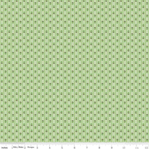 Prim Granny Apple Stripe Yardage (C9705 GRANNYAPPLE)
