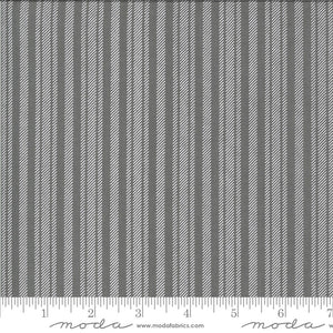 Apricot & Ash Ash Ticking Stripe Yardage (29107 19)