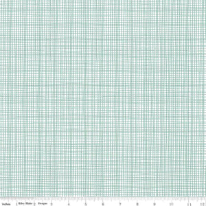 Sleep Tight Mint Weave Yardage | SKU #C10265-MINT - Stitches n Giggles