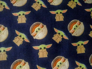Star Wars Mandalorian Baby Yoda Fabric (17403395)