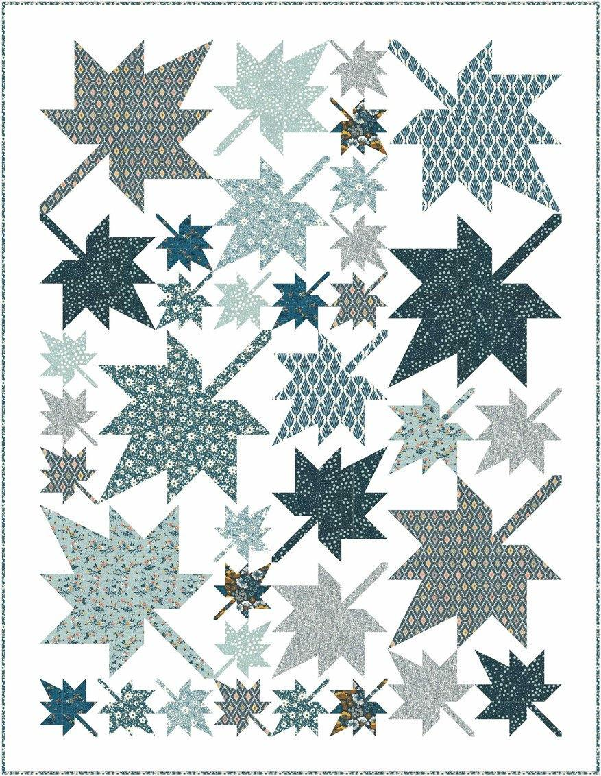 Autumn Leaves Quilt Pattern (WS 01G)