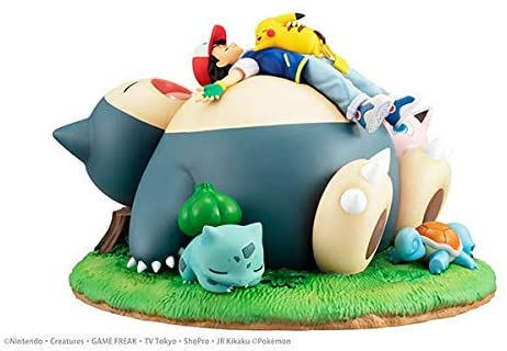 Pocket Monsters/Pokemon - G.E.M. Series Nap with Snorlax/Kabigon (MegaHouse)