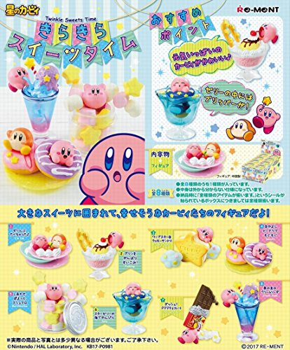 Set  I'm Full Candy Toy Hoshi no Kirby - Re-Ment