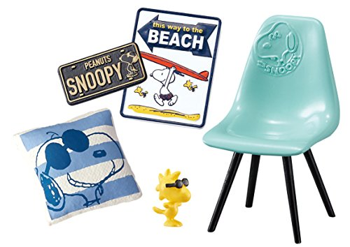 Snoopy Relax on the Terrace Candy Toy Peanuts - Re-Ment