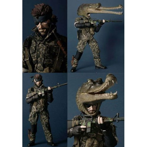 Naked Snake 1/6 Real Action Heroes (#228) Metal Gear Solid 3: Snake Eater - Medicom Toy