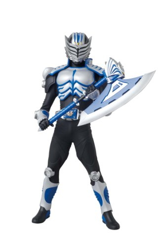 Kamen Rider Axe 1/6 Real Action Heroes (#505) Kamen Rider Dragon Knight - Medicom Toy