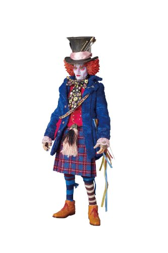 Mad Hatter 1/6 Real Action Heroes (#511) Alice in Wonderland (2010) - Medicom Toy