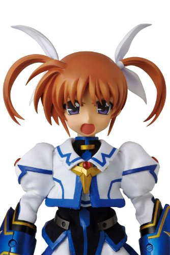 Takamachi Nanoha 1/6 Real Action Heroes (#652) Mahou Shoujo Lyrical Nanoha The Movie 2nd A's - Medicom Toy