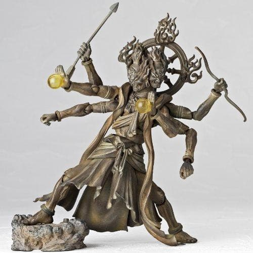 Ashura (Wood Ver. version) Revoltech Takeya - Kaiyodo