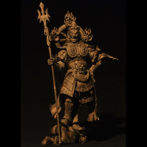 Jikoku-ten (Wood ver. version) Revoltech Takeya - Kaiyodo
