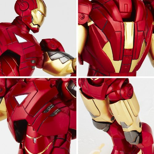 Iron Man Mark VI Legacy of Revoltech (LR-040) Revoltech SFX Iron Man - Kaiyodo
