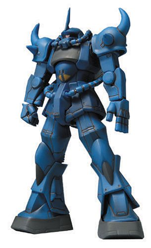 MS-07B Gouf Extended Mobile Suit in Action!! Kidou Senshi Gundam - Bandai
