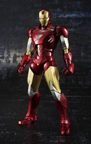 Iron Man Mark VI S.H.Figuarts Iron Man 2 - Bandai