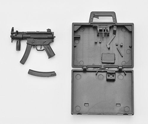 MP5K Koffer - 1/12 scale - Little Armory (LA045) - Tomytec