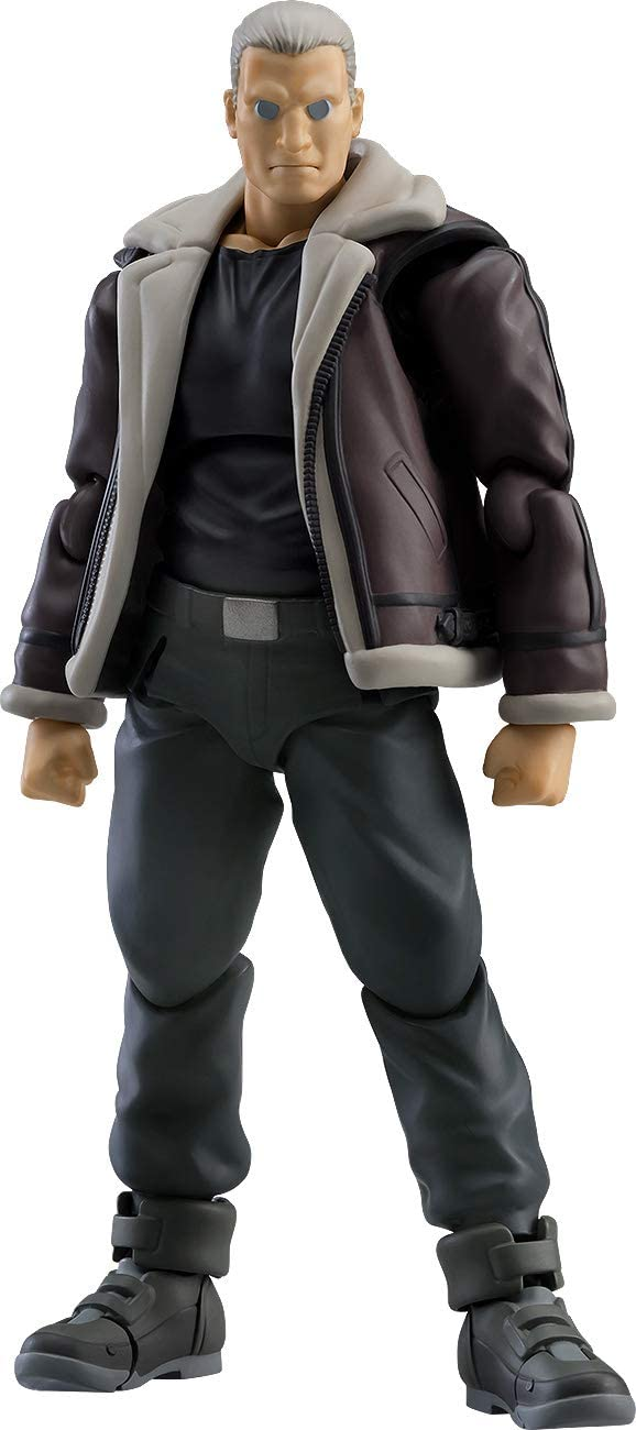Max Factory figma Ghost in the Shell Stand Alone Complex Batou S.A.C Ver.