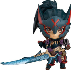 Monster Hunter World: Iceborne - Nendoroid #1284 - Hunter: Female Nargacuga Alpha Armor Ver. (Good Smile Company)