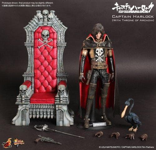 Captain Harlock Torisan (Throne of Arcadia version) - 1/6 scale - Movie Masterpiece (MMS223) Space Pirate Captain Harlock - Hot Toys