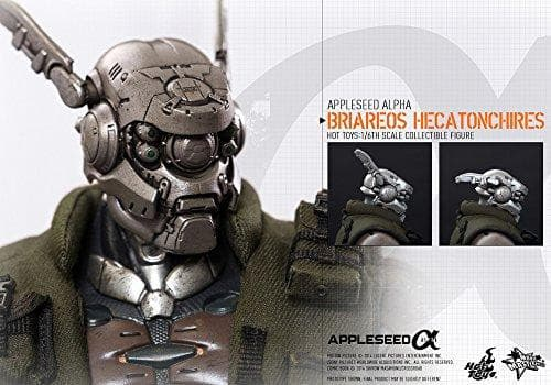 Briareos Hecatonchires - 1/6 scale - Movie Masterpiece Appleseed Alpha - Hot Toys