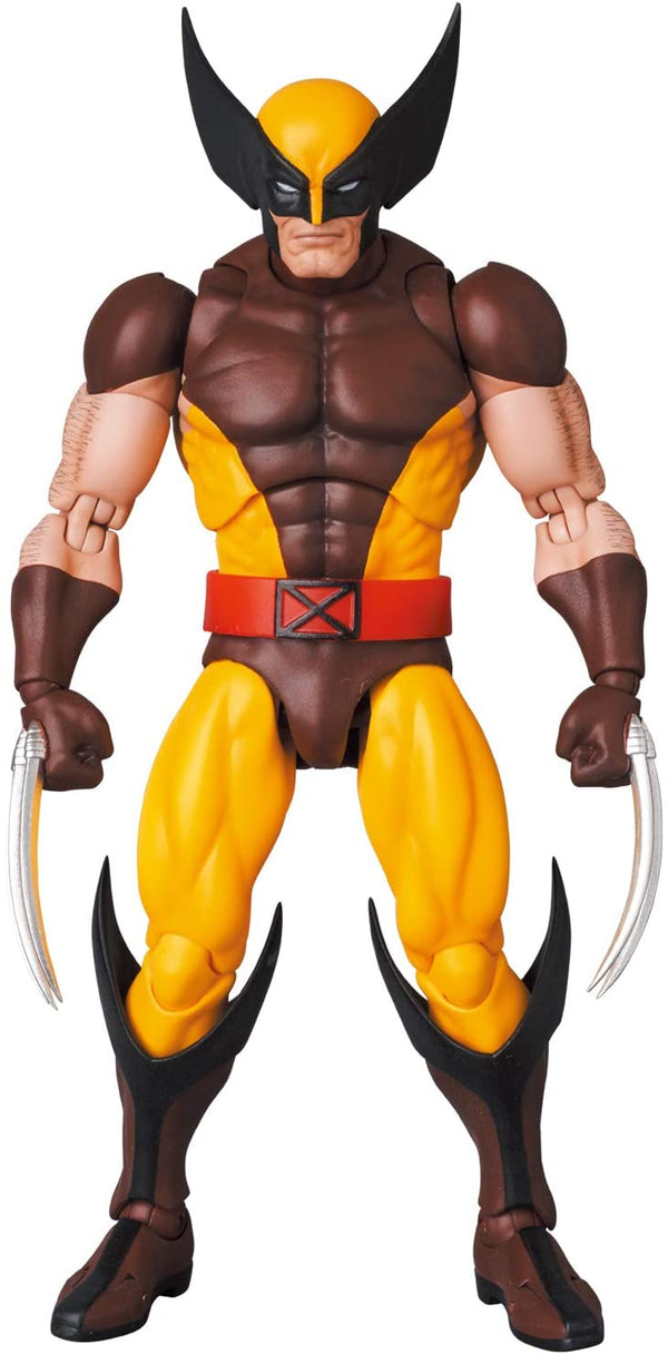 X-Men - Mafex No.138 Wolverine Brown Comic Ver. (Medicom Toy)
