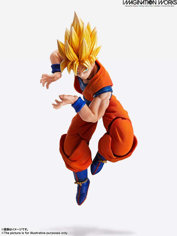Dragon Ball Z - Imagination Works Son Goku 1/9 Scale (Bandai Spirits)