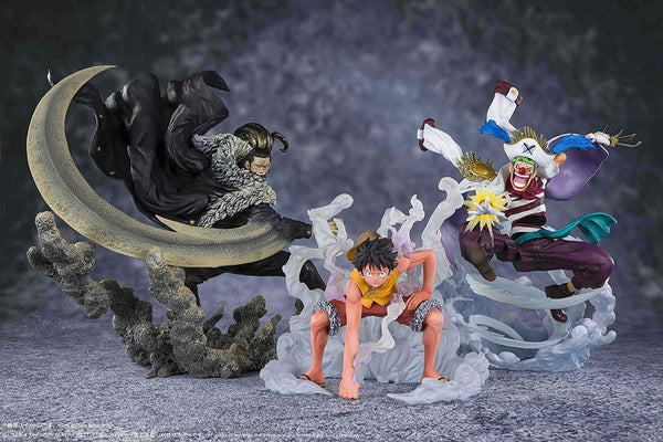 One Piece Figuarts ZERO -Extra Battle- Monkey D. Luffy -PARAMOUNT WAR- (Bandai Spirits)