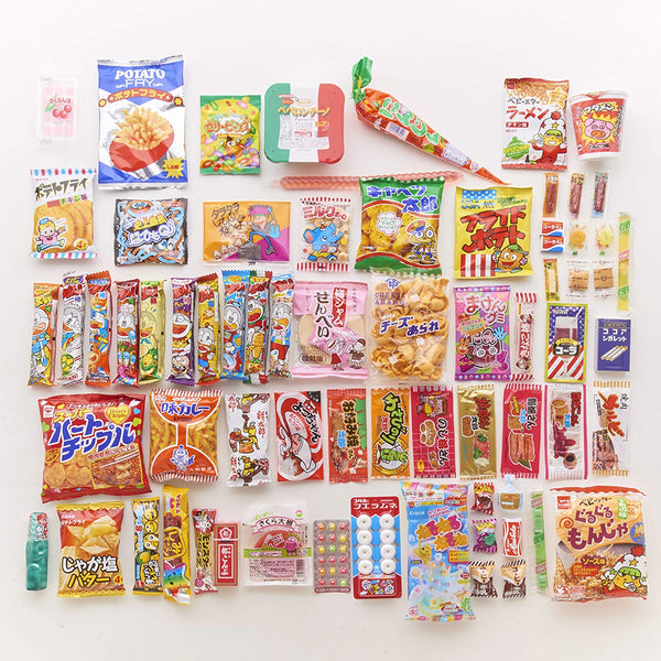 Japanese Snack Box set of  72 items