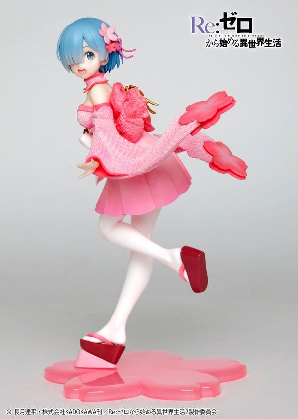 """Re:Zero Starting Life in Another World"" Precious Figure Rem SAKURA Ver. (Taito)"