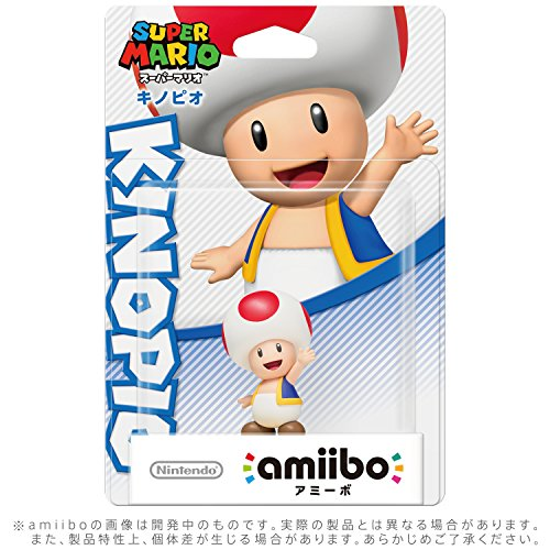 Toad Amiibo (Super Mario Series)