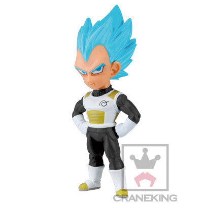 Vegeta SSJ God SS Dragon Ball Z Fukkatsu No F World Collectable Figure Vol.1 Dragon Ball Z : Fukkatsu No F - Banpresto