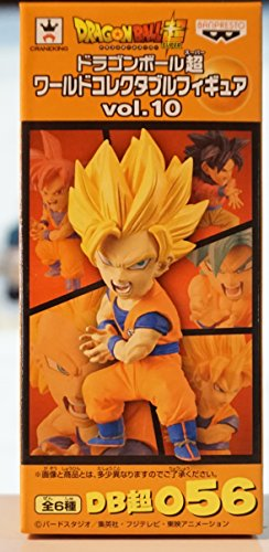 Son Goku SSJ2 Dragon Ball Super World Collectable Figure Vol.10 Dragon Ball Super - Banpresto