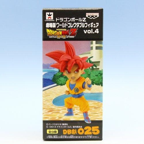 Dragon Ball Z Movie, World Collectable figure vol.4 : Goku Super Saiyan God