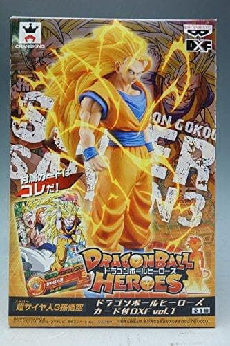 Dragon Ball Heroes DXF vol.1 goku super Saiyan 3