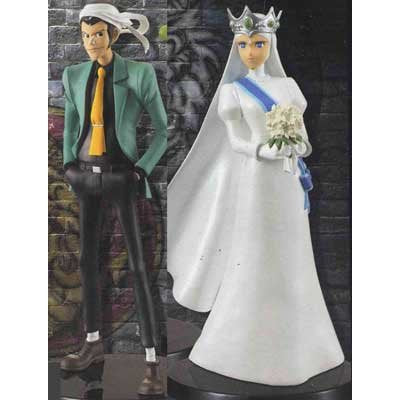 Lupin III & Clarisse DX Stylish Figure The Castle of Cagliostro ver.3