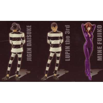 Set of 3 DX Stylish Figure ~ THE PRISON BREAKER ~ Lupin III