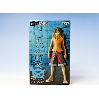 One Piece High Spec Coloring Figure 2 (05)  Monkey  D  Luffy