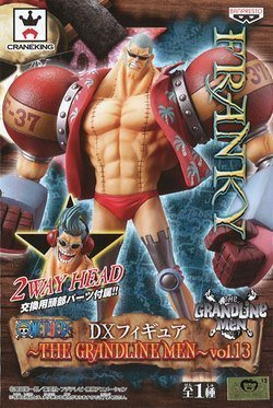 One Piece DX Figure GRANDLINE MEN Vol.13 Frankie