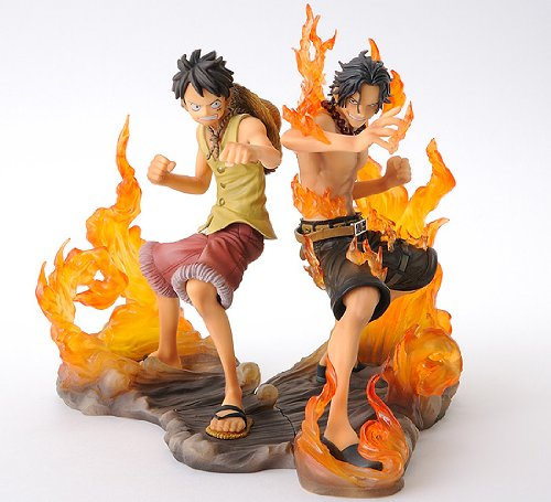 One Piece DX Figure BROTHERHOOD Luffy and Ace