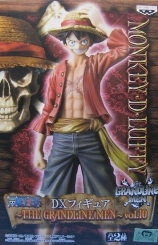 One Piece DX Figure THE GRANDLINE MEN vol.10 New World Monkey  D  Luffy
