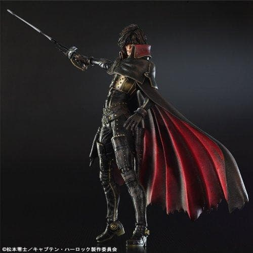 Harlock PLAY ARTS Kai Captain Harlock