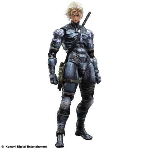 Raiden PLAY ARTS Kai  METAL GEAR SOLID 2 SONS OF LIBERTY